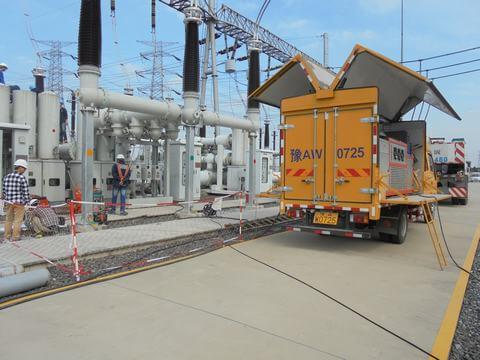 Siemens Gas Insulated Switchgear system