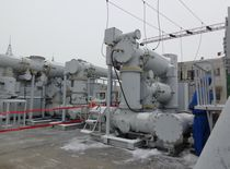 high-voltage purification device plants